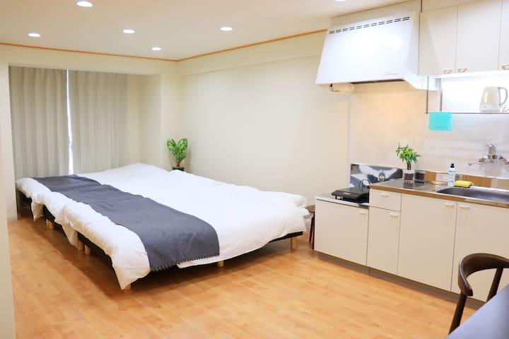 Clean&Modern Room★Maximum 8PPL★#23
