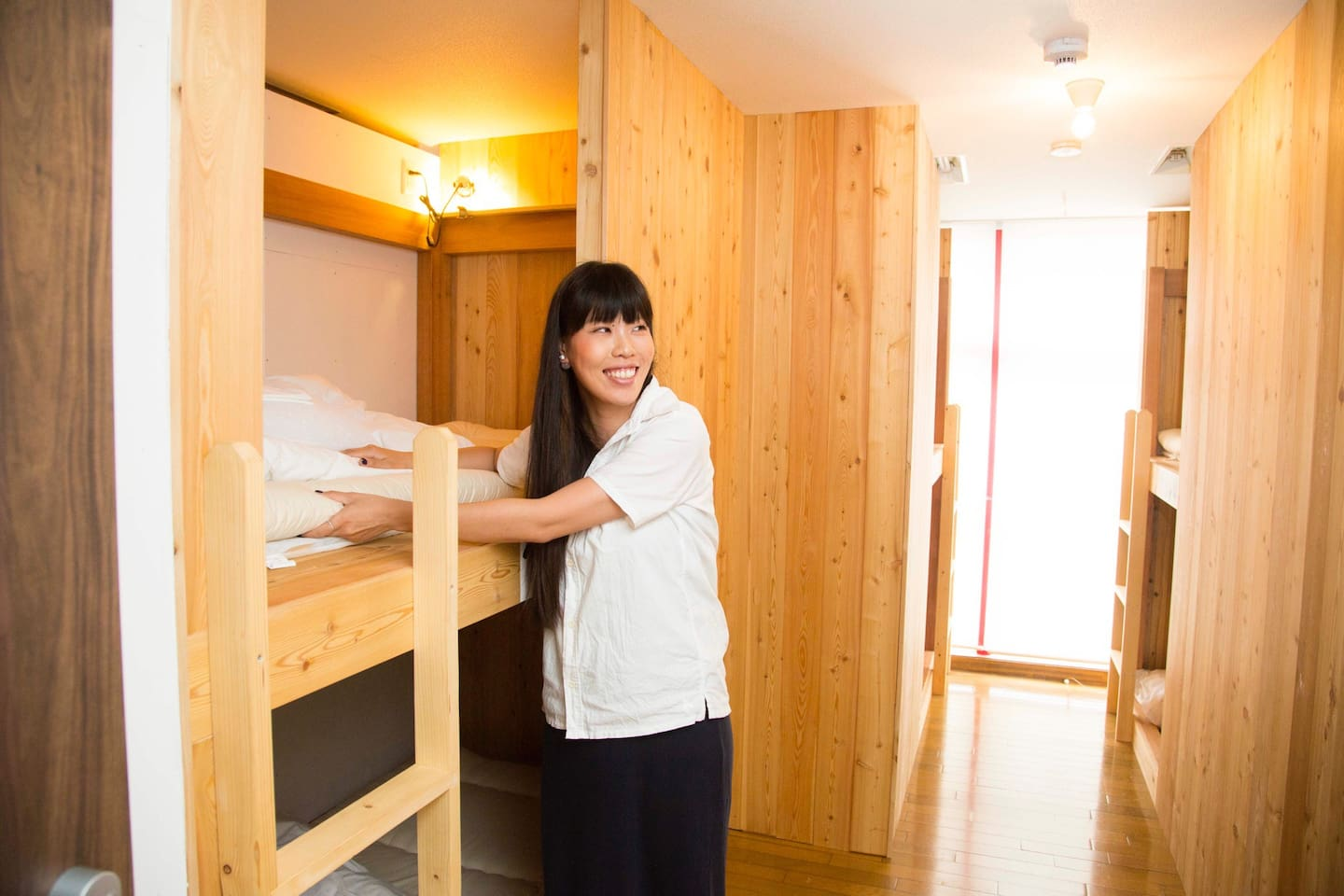 I'm the owner, Hazuki. Looking forward to seeing you:) [This is female dorm room!]