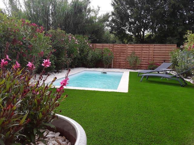 Villa  avec piscine à 15 min de la Grande Motte
