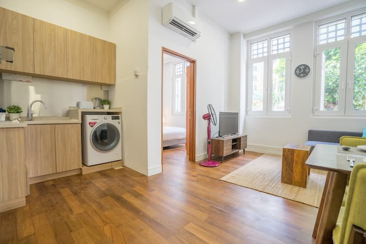 Maple 1BR Suites near CBD w/ Kitchen