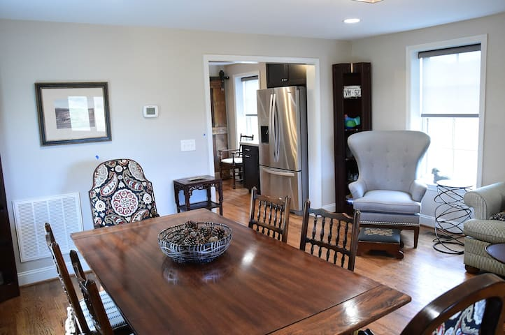 Dinning area for family or romantic dinners