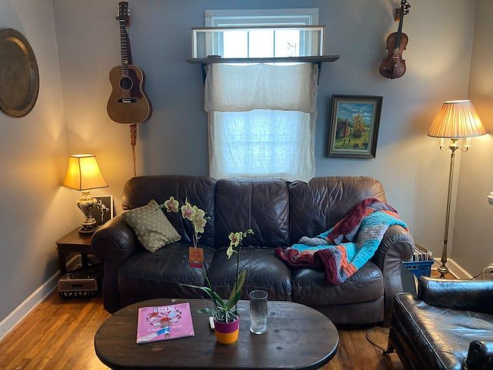 Whimsical Eastside Musicians' Cottage