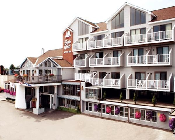 *Rockland, ME, Hotel #1 /A319 - Rockland - Daire