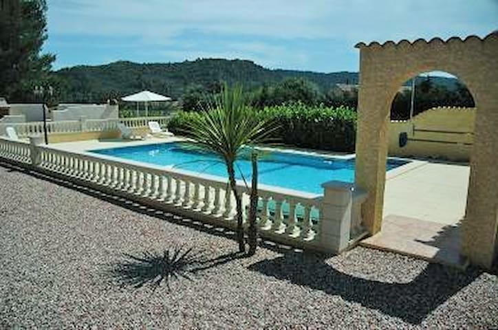 Les Ecologies Gite 1  with pool sleeps 4 - Cessenon-sur-Orb