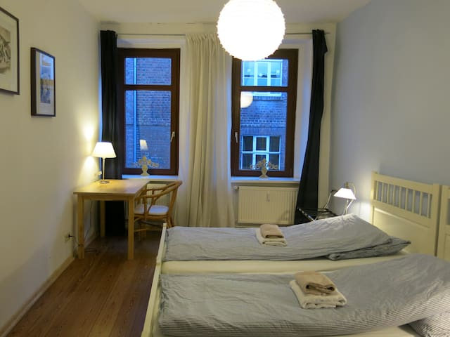 Twin Room in historical part of Lüneburg - ลูนเบิร์ก - บ้าน