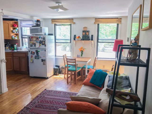 Sunny one bedroom with terrace in park slope flats for for 64 terrace place brooklyn