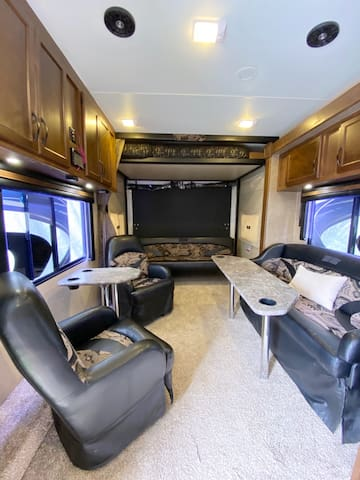 Luxury RV Glamping in Huntington Beach
