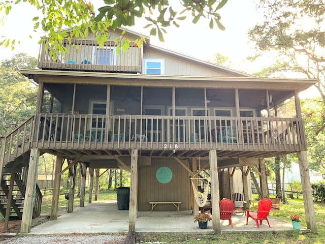 Beach Cottage in the Trees, Dog Friendly