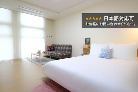 서울역에서 도보 2분!  럭셔리한 신축 오피스텔, 헬스장&스카이라운지 무료 이용 - Seoul - Apartemen