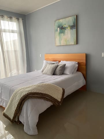 Master bedroom-really clean and cozy atmosphere