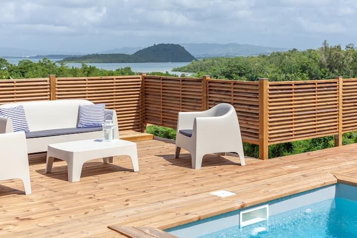 SeaCove: Superbe villa neuve, piscine et vue mer