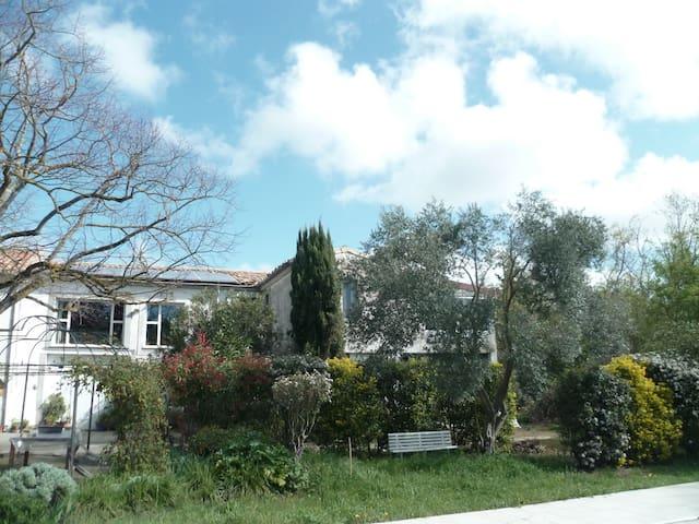 Appartement indépendant dans maison proche Cité - Carcassona - Pis