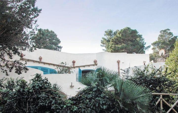 Villa Giosa sul golfo di Capo Zafferano