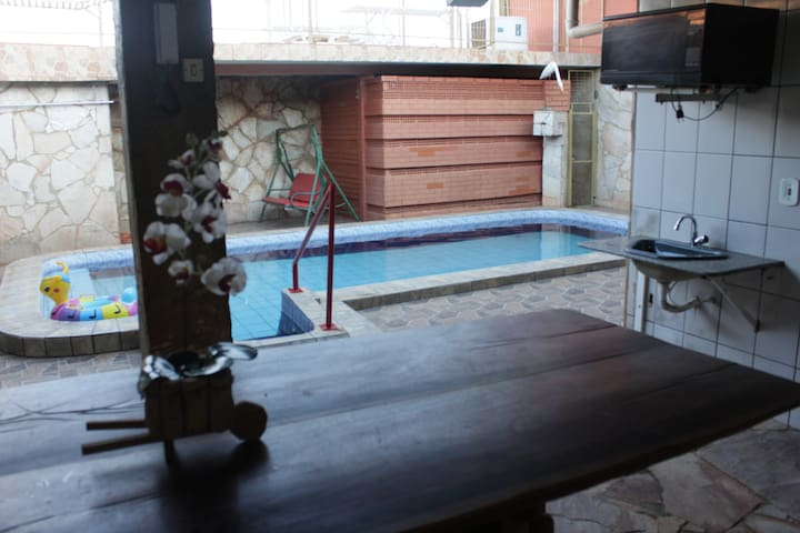House in Caldas Novas, GO for your vacation.