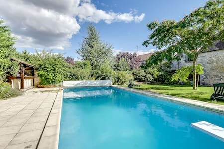 Gorgeous house with a swimming pool - Saint-Germain-sur-École - Haus