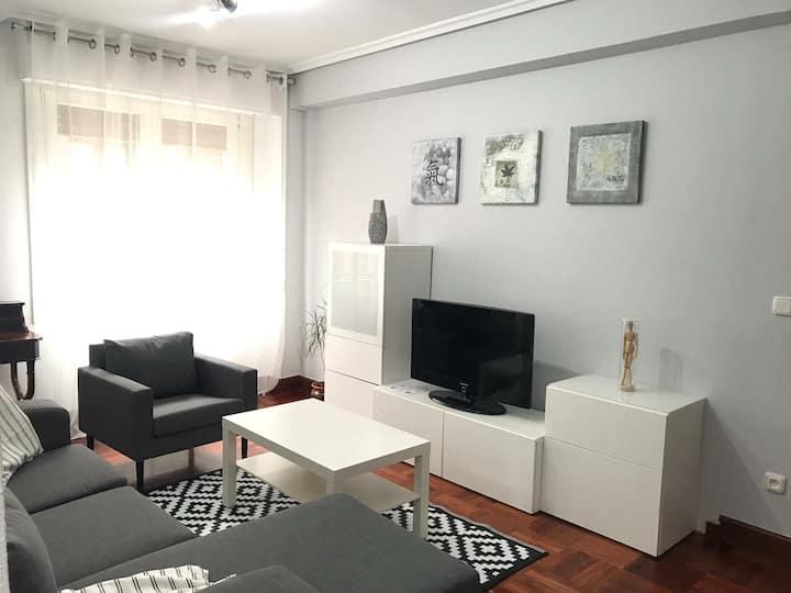 (Zarautz)Piso+Garaje+Wifi+Céntrico