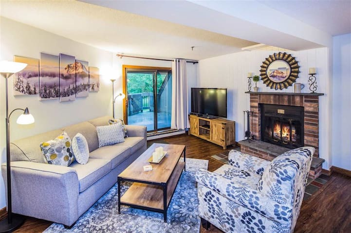 Newly renovated ski retreat at  Killington