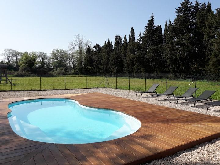 Mas catalan avec piscine privative