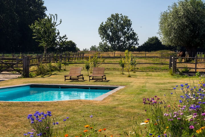 Holiday cottage in Flemish Ardennes, calm location