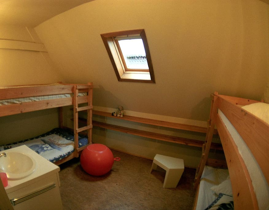 One of the rooms (4 persons)
