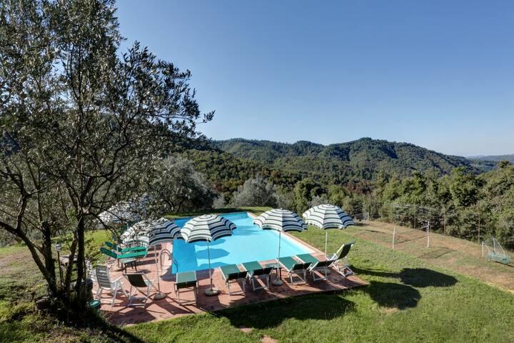 Ensoli,Villa Tipica Toscana - Gaiole In Chianti - Villa