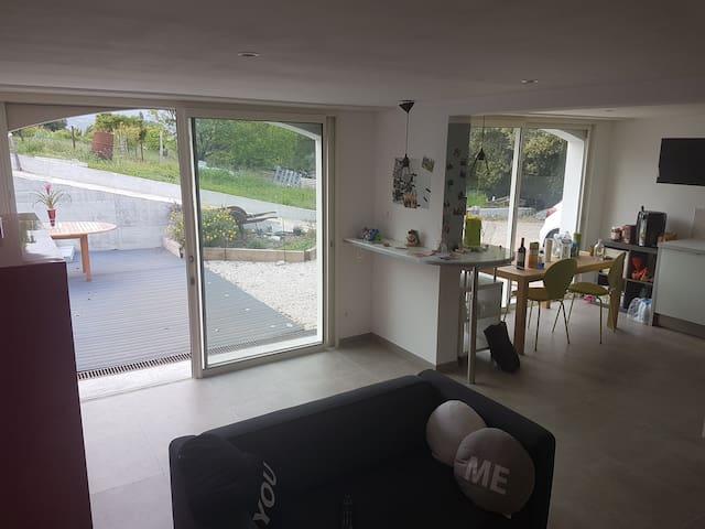 2 pièces au calme et tout confort - Cagnes-sur-Mer - Apartment