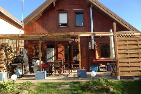 maison chalet bois - Wittisheim