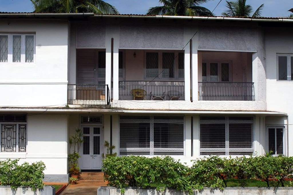 An exterior view of HighPoint Home Stay in Thirthahalli, Shimoga.