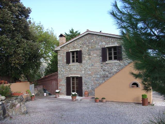 Romantische Ferienwohnung, toscanisches Landhaus - Rosignano marittimo - Pis