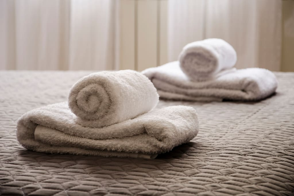 We provide towels for our guest's.