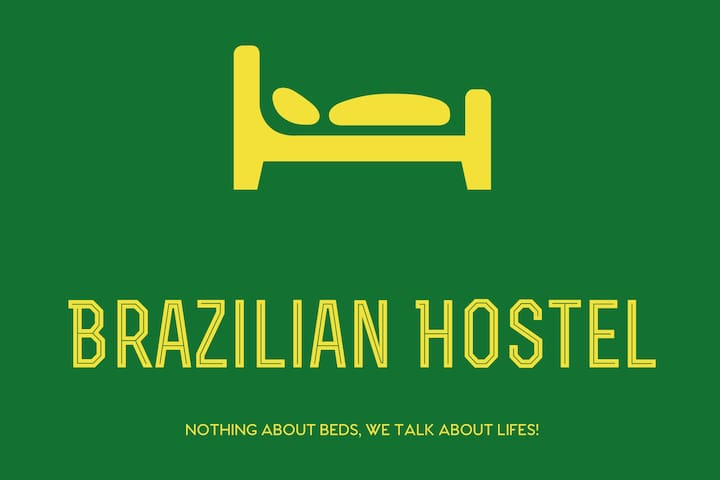 I) Brazilian Hostel & Kitchen Shared room 4 beds