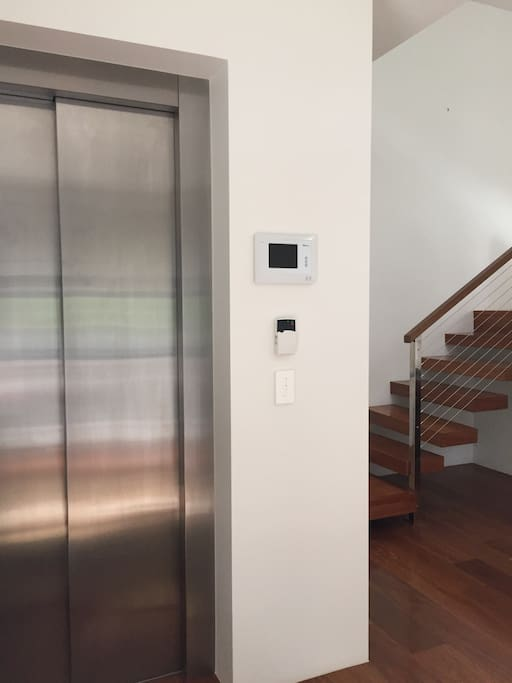 The apartment is accessible via lift only - you are provided with a unique code to access the loft upon check-in.
