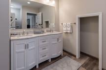 Lower Bathroom Detail