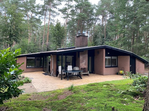 Detached cozy bungalow in the middle of the forest
