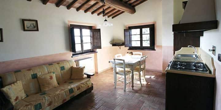 Appartamento con giardino e piscina vicino Assisi