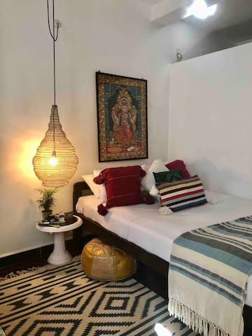 featuring modern Indian decor