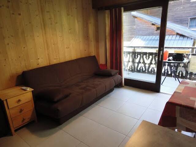 Appartement ski à CHATEL au pied du Linga