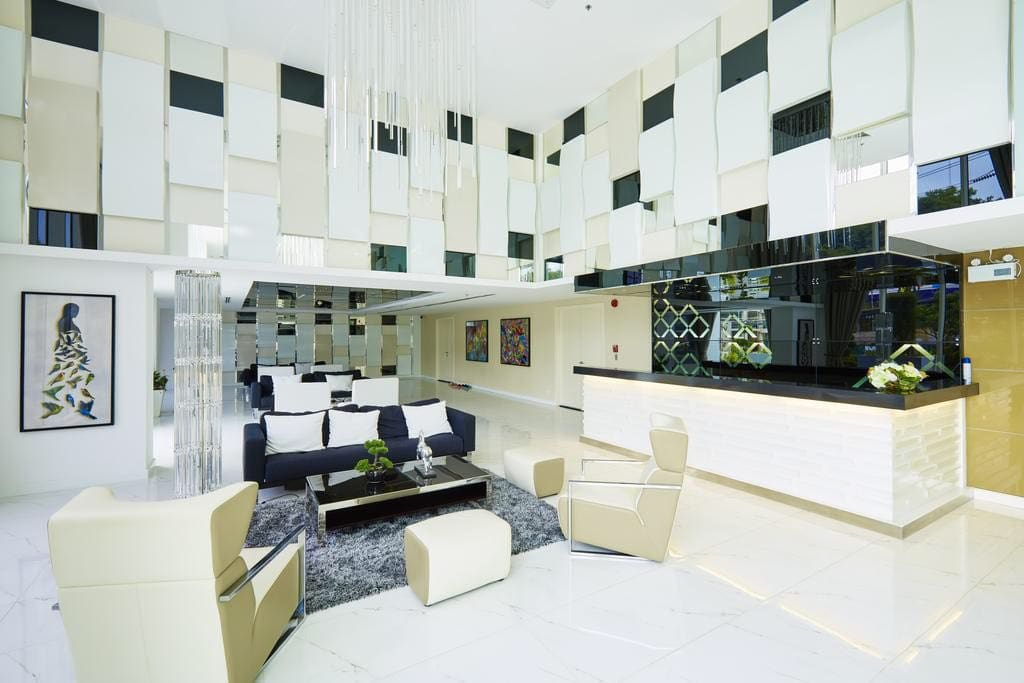 Five star lobby luxurious interior design