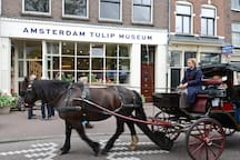 Top location City center Amsterdam near Anne Frank