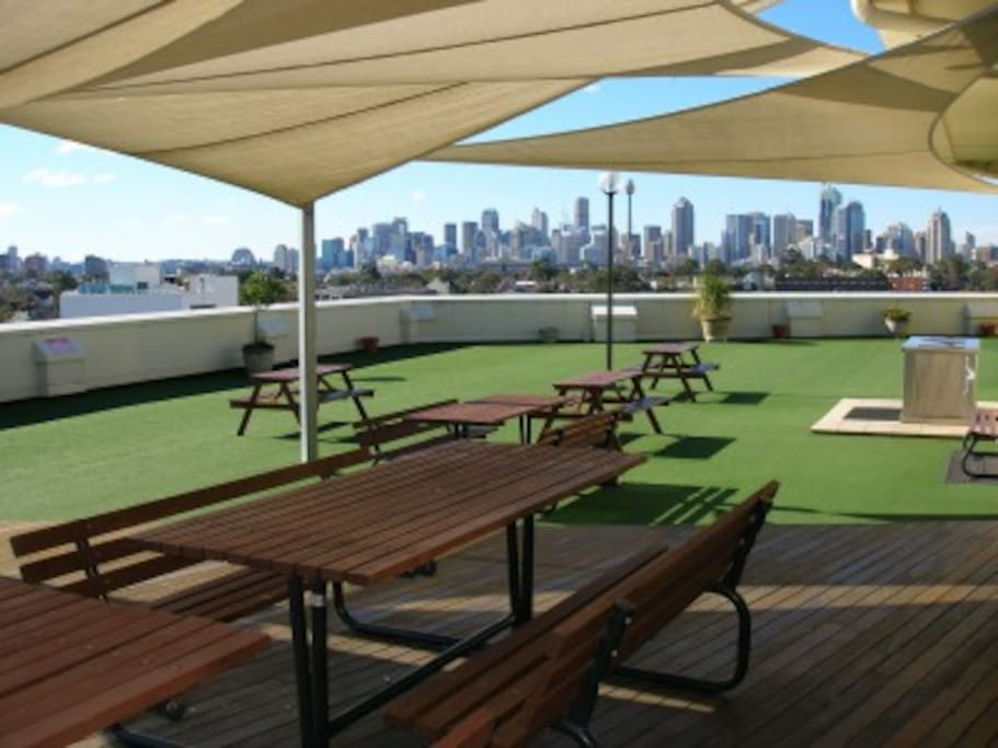 Superb rooftop facilities