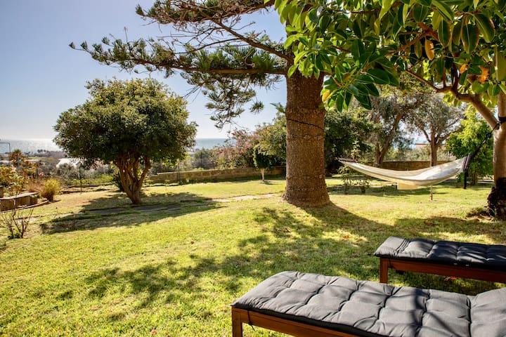 Il giardino degli aranci- Villa with sea view