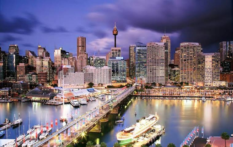 ENTIRE Modern Studio Minutes walk to Sydney CBD