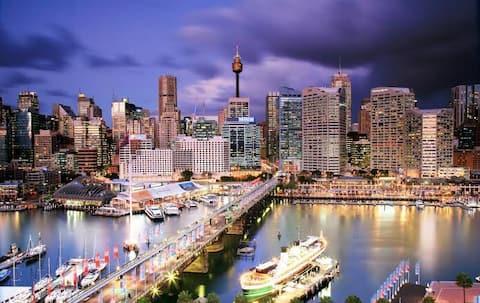 ENTIRE Modern Studio Minutes walk to Sydney CBD