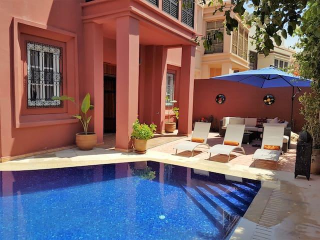 Riad al Jawhar exclusive riad double room 1 - Marrakesh - Bed & Breakfast