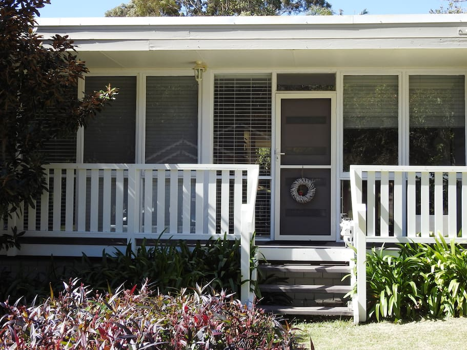 Front view - 1 Forest Way, Mollymook