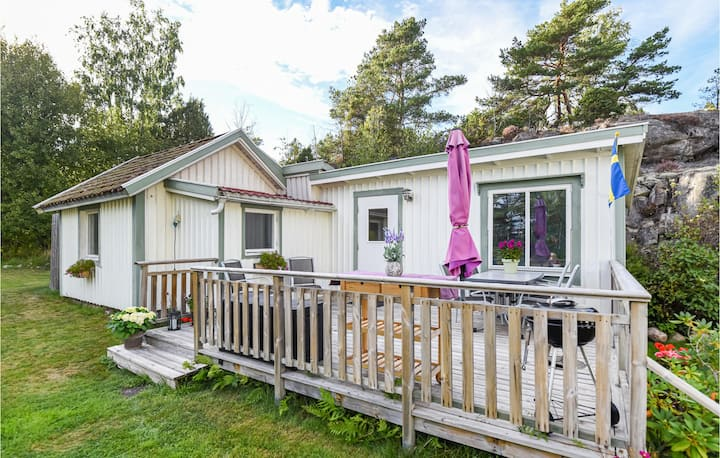 Beautiful home in Strömstad with 1 Bedrooms