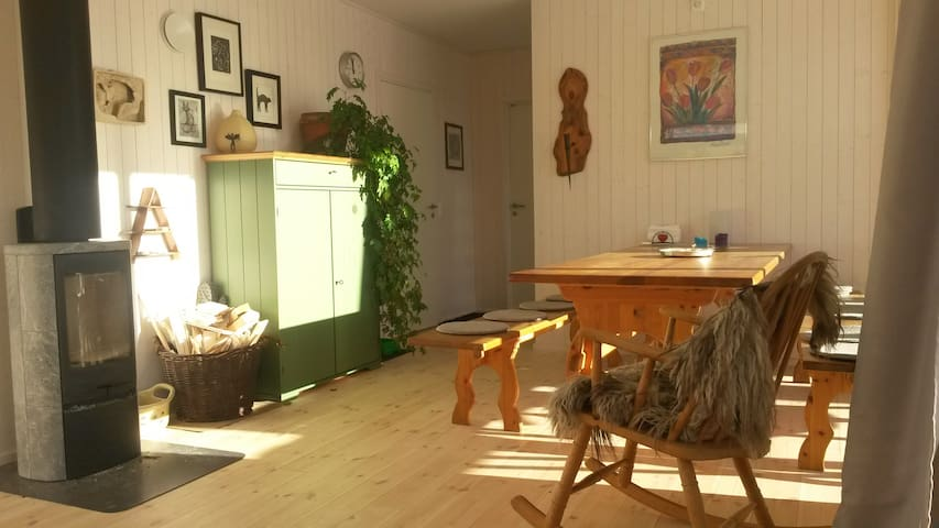 Living in a ecovillage - Hurdal - Квартира