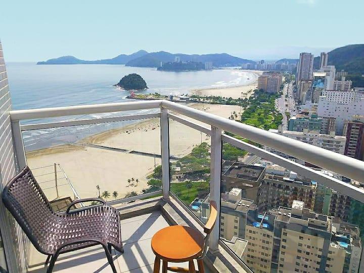 #Book Santos - Unlimited 3412 - Frente Mar