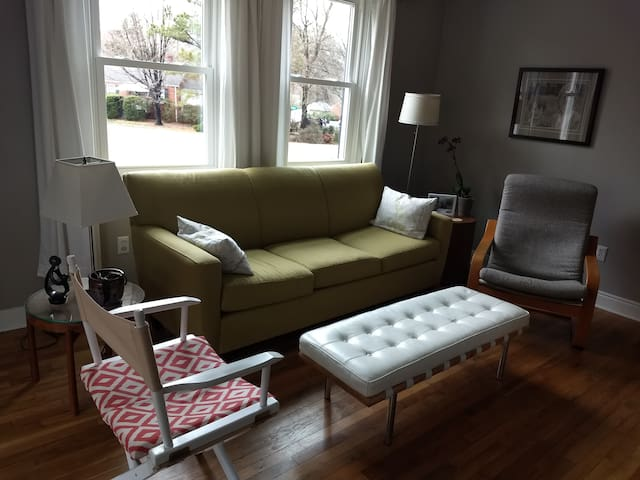 Living room; shared space