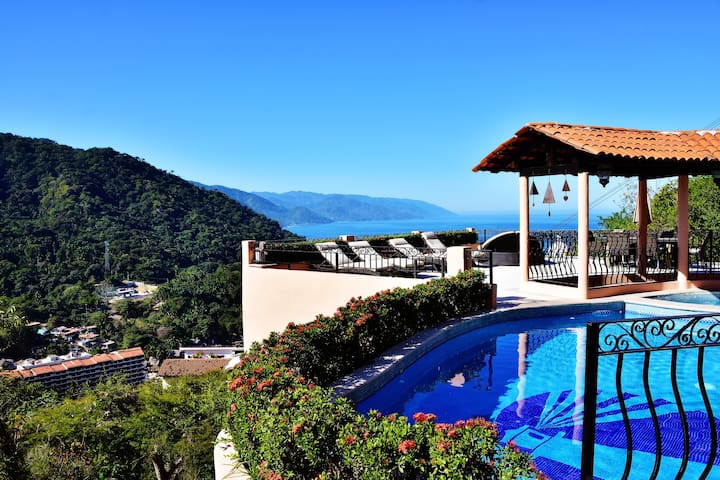 Spectacular views from Casa Patricia